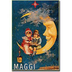 'Maggi' Gallery-wrapped Canvas Art
