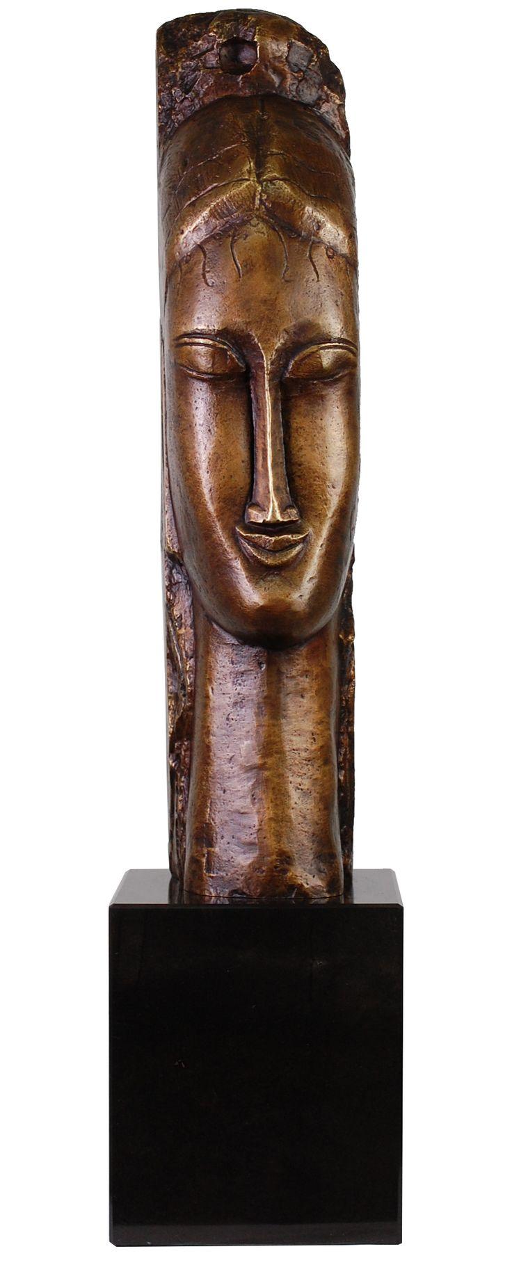 Bronze à la cire perdue - MODIGLIANI Amedeo - TETE DE JEUNE FEMME - Bronze à la [...] https://www.auction.fr/_fr/achat-immediat/lot/bronze-a-la-cire-perdue-modigliani-amedeo-tete-de-jeune-femme-bronze-a-la-12805733