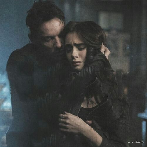 The Mortal Instruments: City Of Bones Still. Valentine Morgenstern  (Jonathan Ryes Meyers) And Clary Fray (Lily Collins)