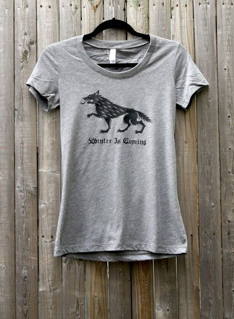Winter is coming// Game of thrones tee//