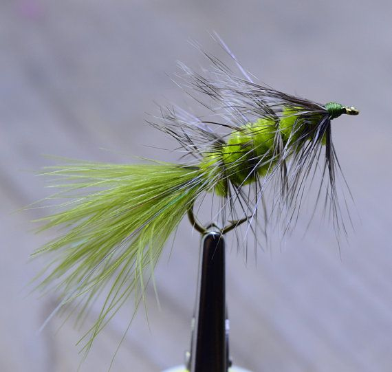 Lot New Custom Fly Fishing Flies Trout Lures Wooly