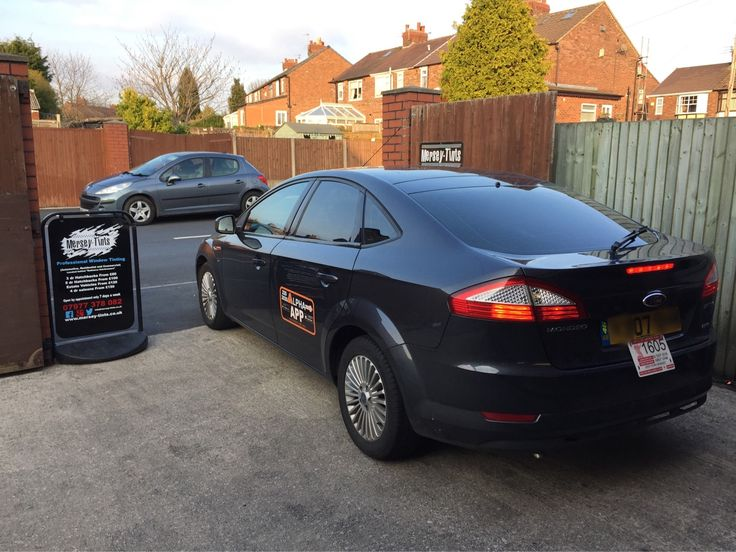 2007 Ford Mondeo in this afternoon for 18% Carbon tints to the rear