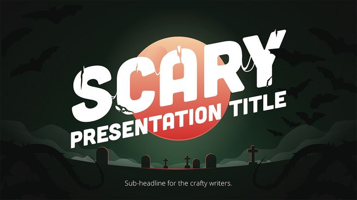 Easy tips and tricks to get you started on your Halloween Presentation Design.
