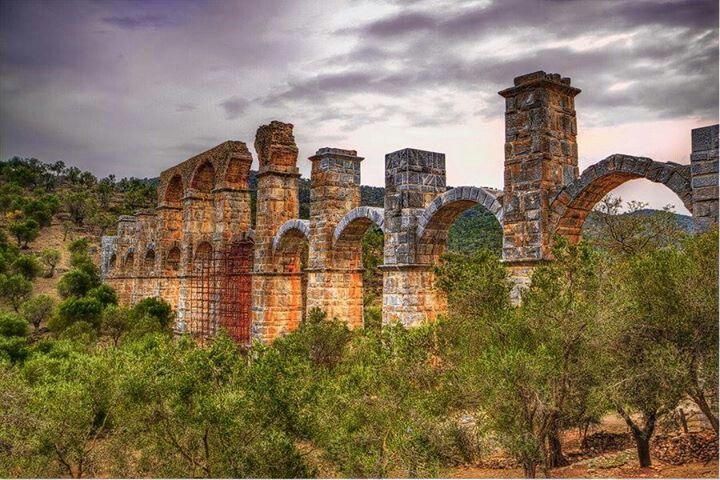 Roman Aquaduct, Lesvos Island.