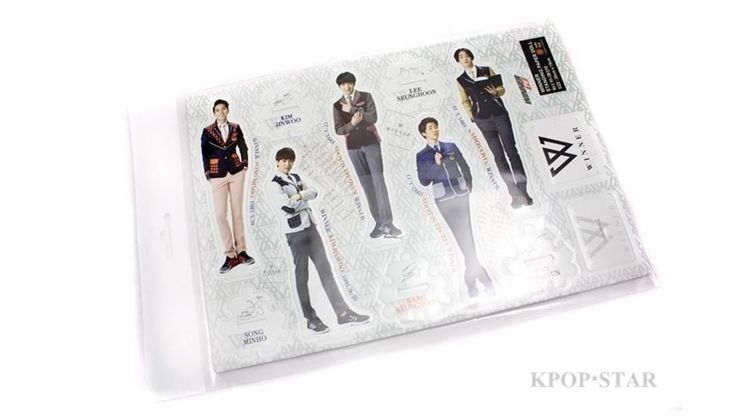 WINNER Standing Paper Doll Korean Pop Star KPOP K POP K-POP Paper Doll
