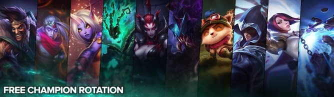 cool Free Champion Rotation, Week of June 13th