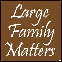 Large Families on Purpose: Large Family Matters: Parenting Young Children While Successfully Managing Your Home