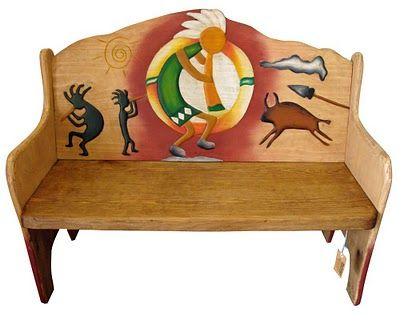 mexican painted furniture68 best southwest images on Pinterest  Mexican furniture Painted