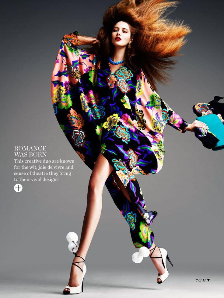 visual optimism; fashion editorials, shows, campaigns & more!: native blooms: solveig mørk hansen, karina kozionova and laura mitchell by tr...