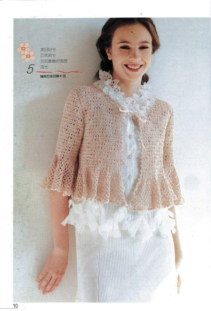 302 best Crochet cardigan images on Pinterest   Jackets, Crochet ...