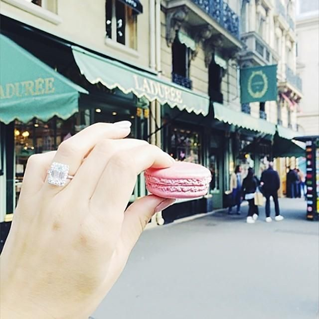Macarons at Lauduree are a must! #paris