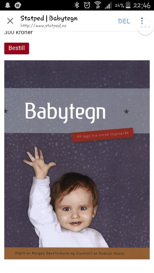 Tegnspråkbok