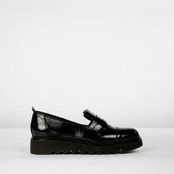 Loafer lakleer zwart