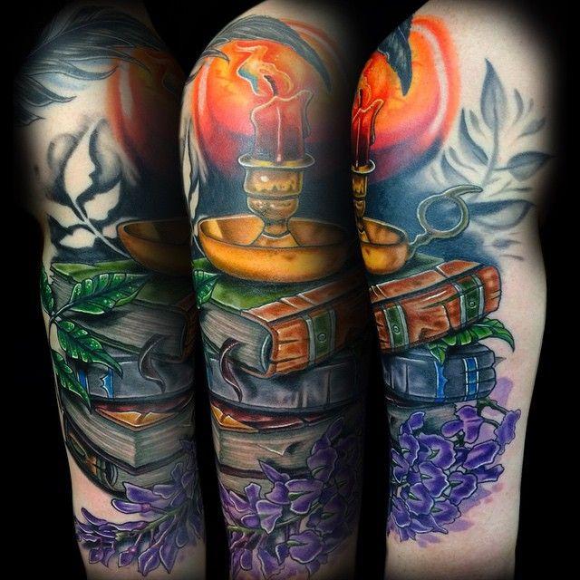 28 Colored Full Sleeve Tattoos: 25+ Best Ideas About Cool Half Sleeve Tattoos On Pinterest
