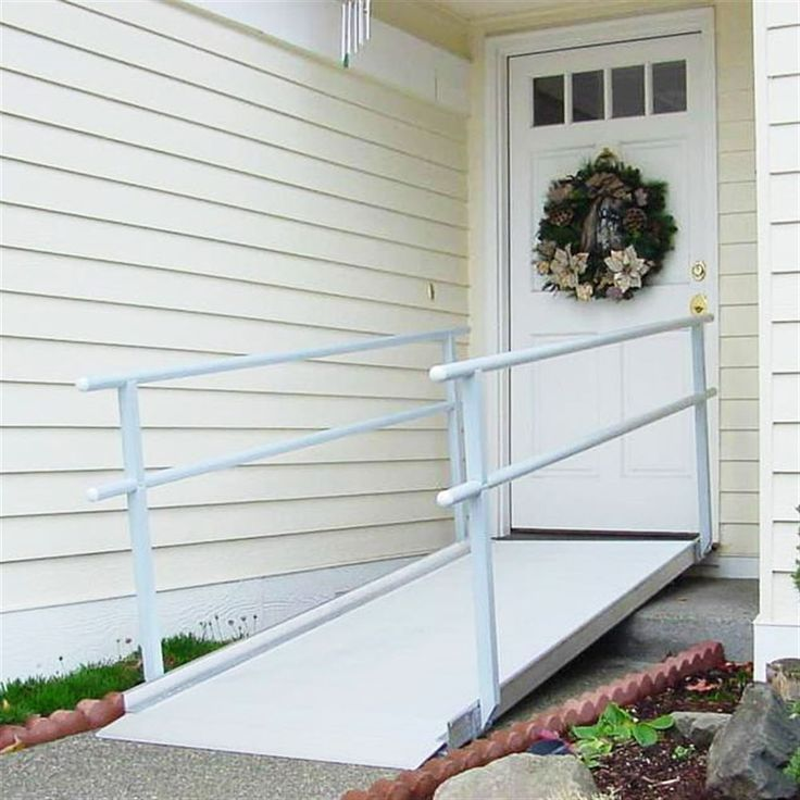 Gateway Portable Aluminum Ramps With Handrails