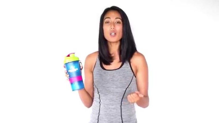 Protein Shaker Bottle For Women by GYM FORCE