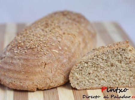 Pan integral con miel. Receta