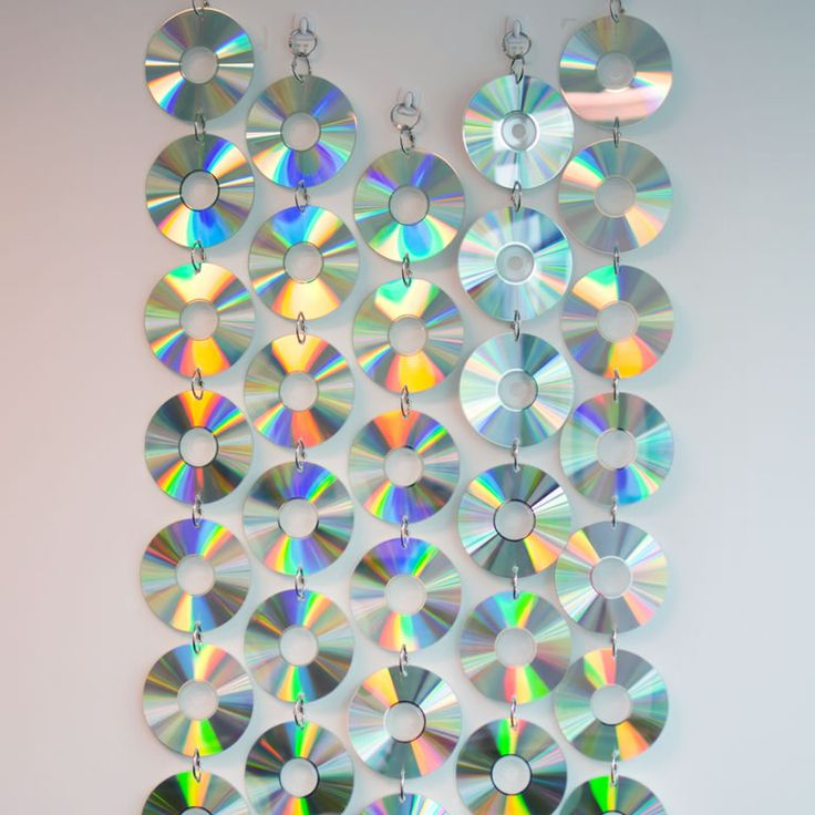 Diy Wall Decoration With Cd : Best cd wall art ideas on diy crafts cds