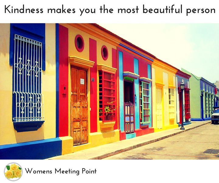 Kindness makes you the most beautiful person #inspiration - http://ift.tt/1HQJd81