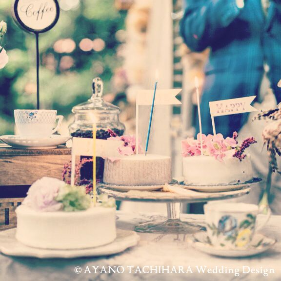 CakeTime karuizawa garden Wedding_ハワイウエディング_produced by AYANO TACHIHARA Wedding Design 軽井沢ガーデンウエディング、邸宅ウエディング