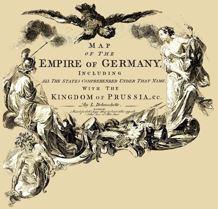 Maps of German through time.  Posselt - Landkarten: Eine Auswahl seltener alter Landkarten des Deutschen Reiches
