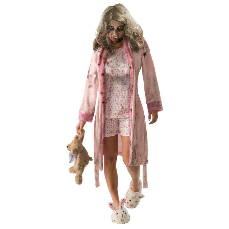 Walking Dead Zombie Tjej Maskeraddrkt