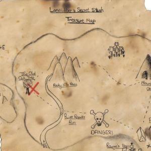 Como fazer um mapa do tesouro para crianças