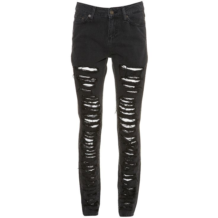 DIY: Ripped skinny jeans