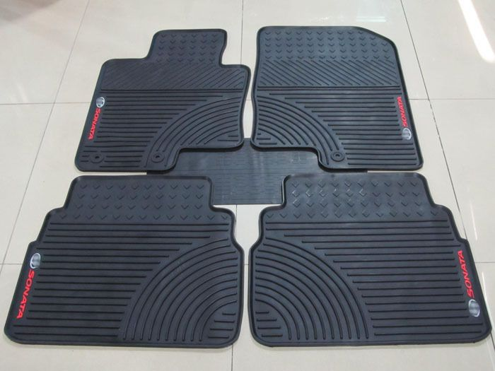 green latex Ottomans dedicated car mats for eight-generation Sonata car special rubber feet