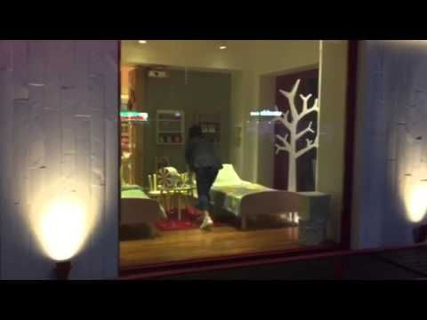 Vitswell SSB PDLC Film Beam Projector Vedio