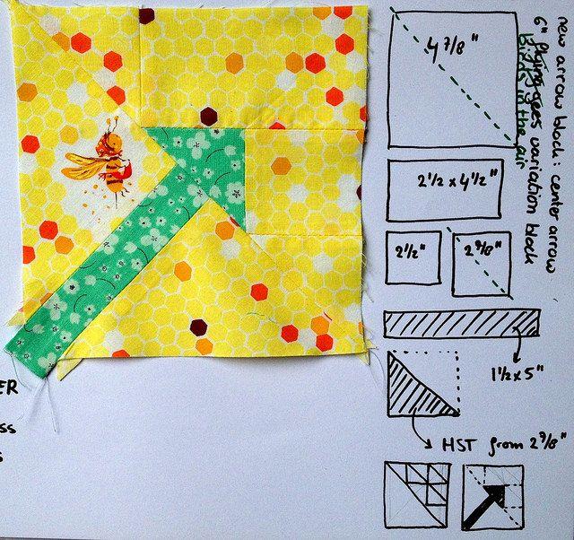 new #centerarrowblock quilt block tutorial