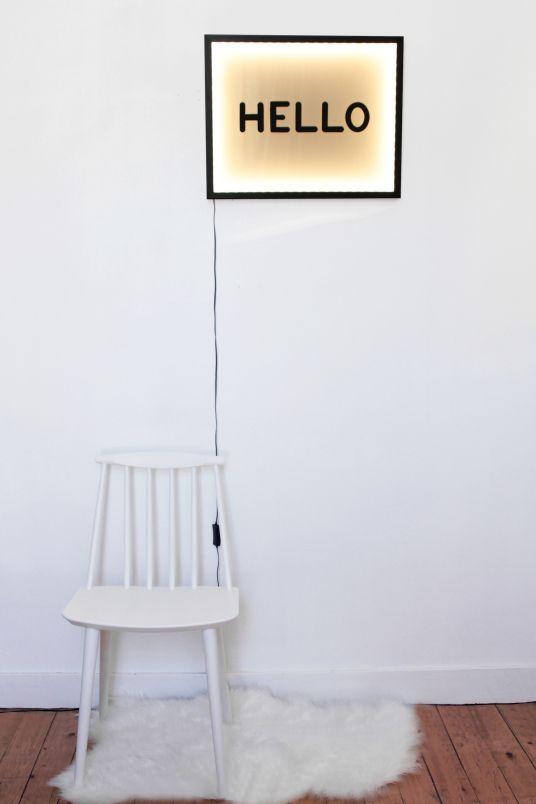 les 25 meilleures id es de la cat gorie tableau lumineux sur pinterest cadre lumineux lumi re. Black Bedroom Furniture Sets. Home Design Ideas