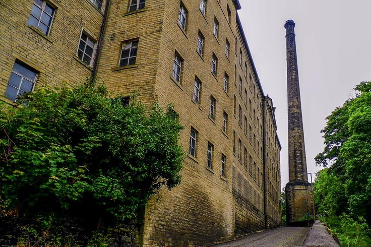 Taken whilst walking the Hebble Trail, a walk that runs from below Halifax Railway Station to Salterhebble Locks follow a route similar to the closed and infilled Halifax Branch of the Calder & Hebble Canal. Shaw Lodge Mills are Grade II listed mill complex built in 1855 that is now a mixed use developement in Halifax. View my blog at, www.colingreenphotography.blogspot.co.uk. Picture Copyright © 2017 Colin Green All Rights Reserved