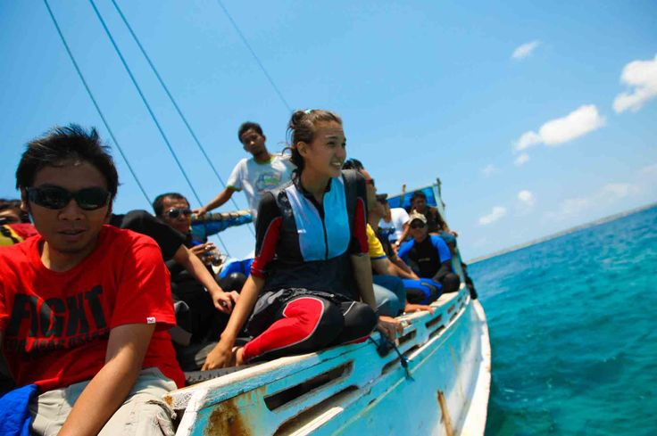 menuju Pulau Rajuni Kabupaten Selayar, Sulawesi Selatan, Indonesia