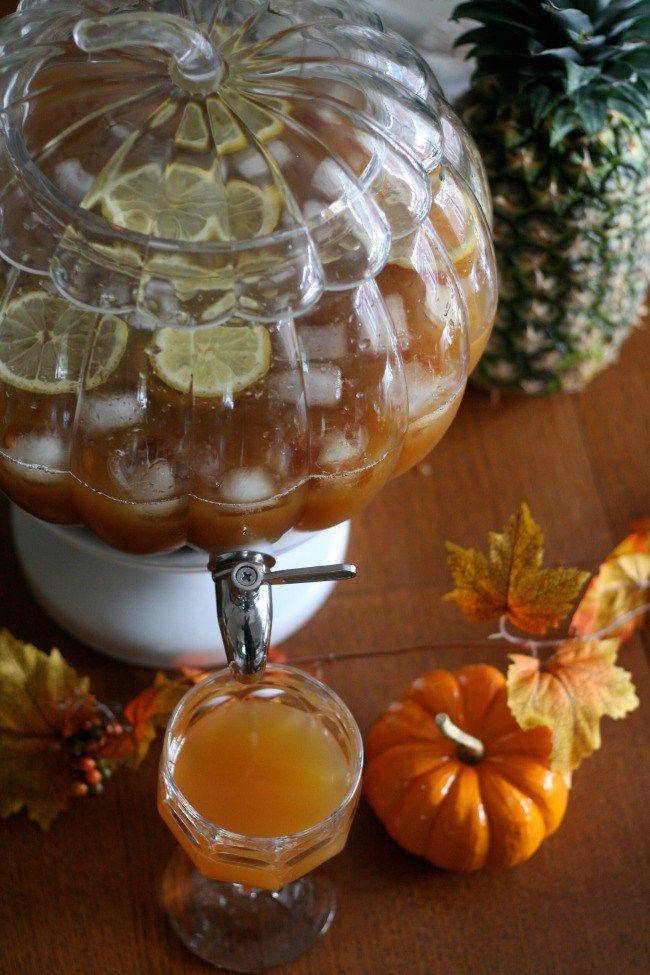 Sparkling Ginger Apple Cider Punch