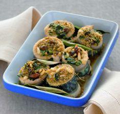 Rotolini di sgombro con spinaci, uvetta e pinoli - Tutte le ricette dalla A alla Z - Cucina Naturale - Ricette, Menu, Diete