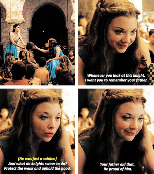"""When she showed her soft side. 