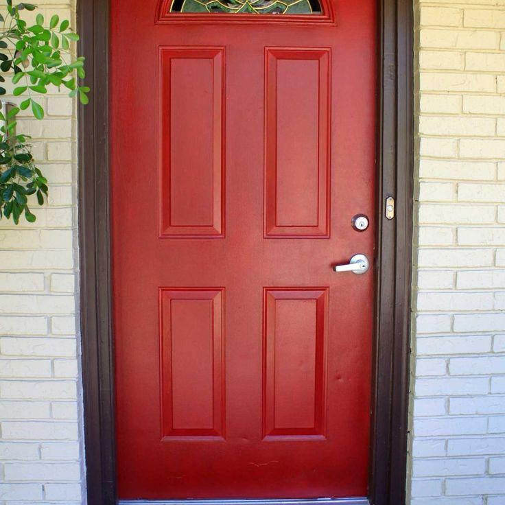 Exterior Red Door Colors