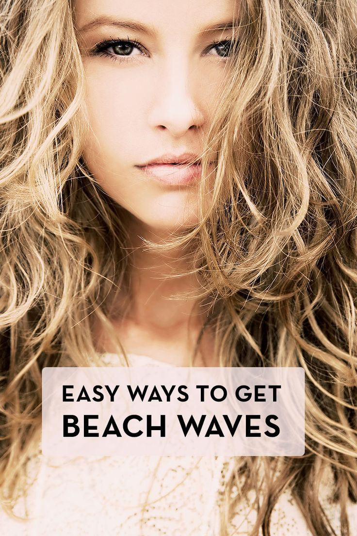 How to Get Beach Waves: Easy Step-by-Step Instructions! For the tutorial, visit http://essentious.com/blog/how-to-get-beach-waves/ #howtogetbeachwaves