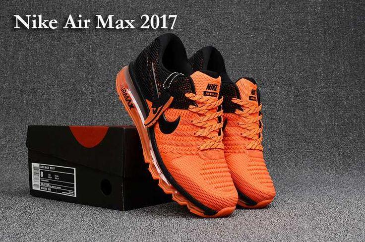 half off 707c5 1a45a Nike Air Max 2017 +3 Men Orange Black · ZapatillasComprarZapatos Para  Correr De HombresZapatos ...