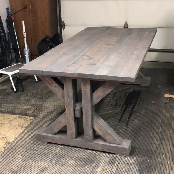 French Farmhouse Dining Table In 2020 Farmhouse Dining Table