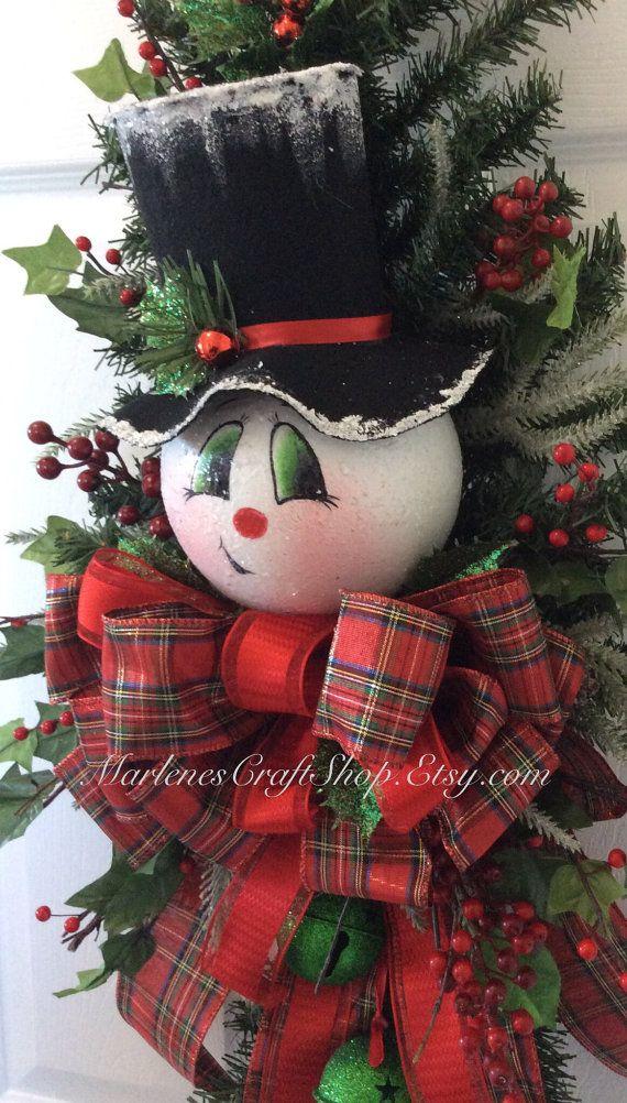 Sneeuwpop en jingle bells deur swag / Frosty de sneeuw man en