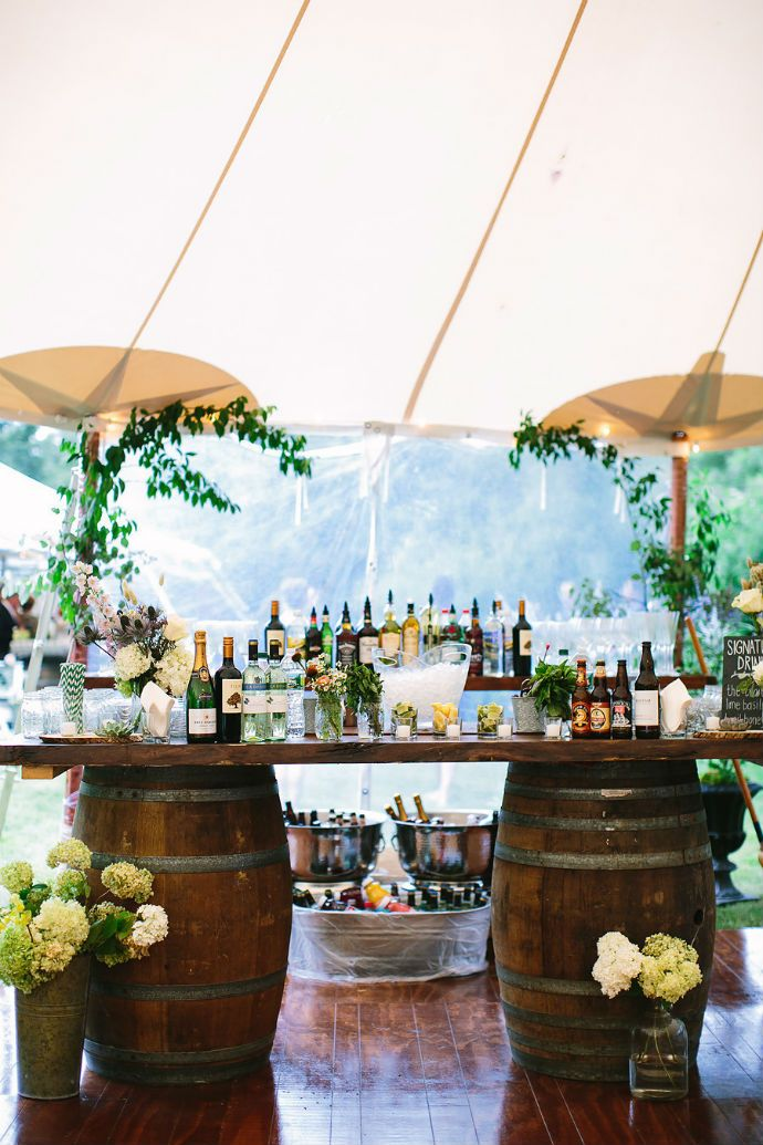 """5 Unique Wedding Bar Setups That Say, """"It's time to party!"""" #wedding #bar #party"""