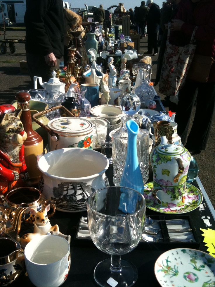 Love antique fairs as a collector this is where you will find me ;-)