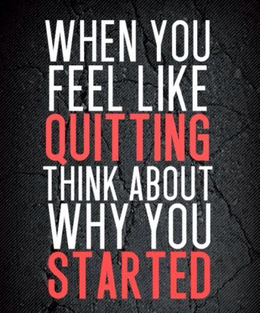 don't quit... keep on trying...