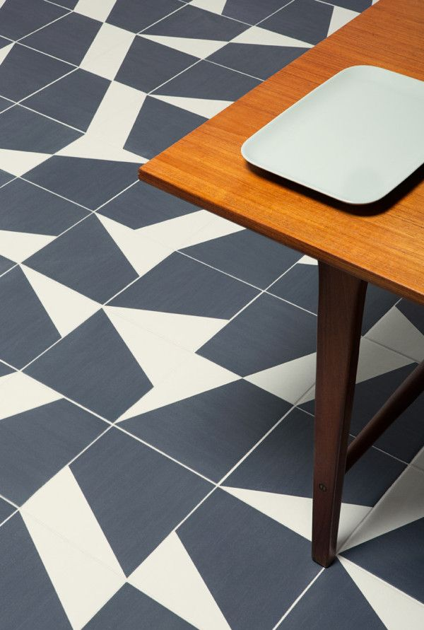 TILES | Puzzle tiles by Barber & Osgerby Design. #Tiles #BarberOsgerbyDesign [ok]