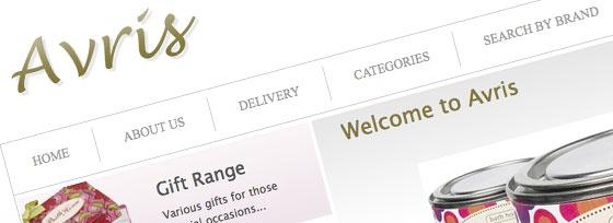 Avris, E Commerce,  web design