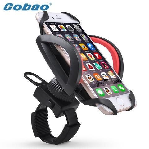 Universal Bicycle Handle Phone Mount Holder Support Case Motorcycle Handlebar For CellPhon... AU $11.92