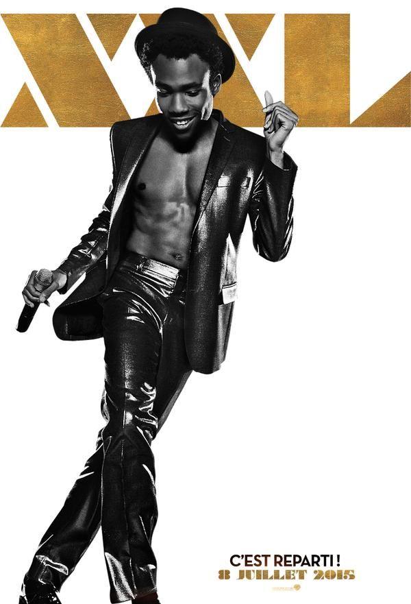 Donald Glover s'affiche pour Magic Mike XXL
