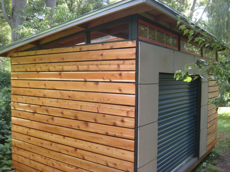 25 best ideas about Modern shed on Pinterest
